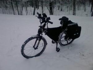 Ксенон на велосипеде выключен