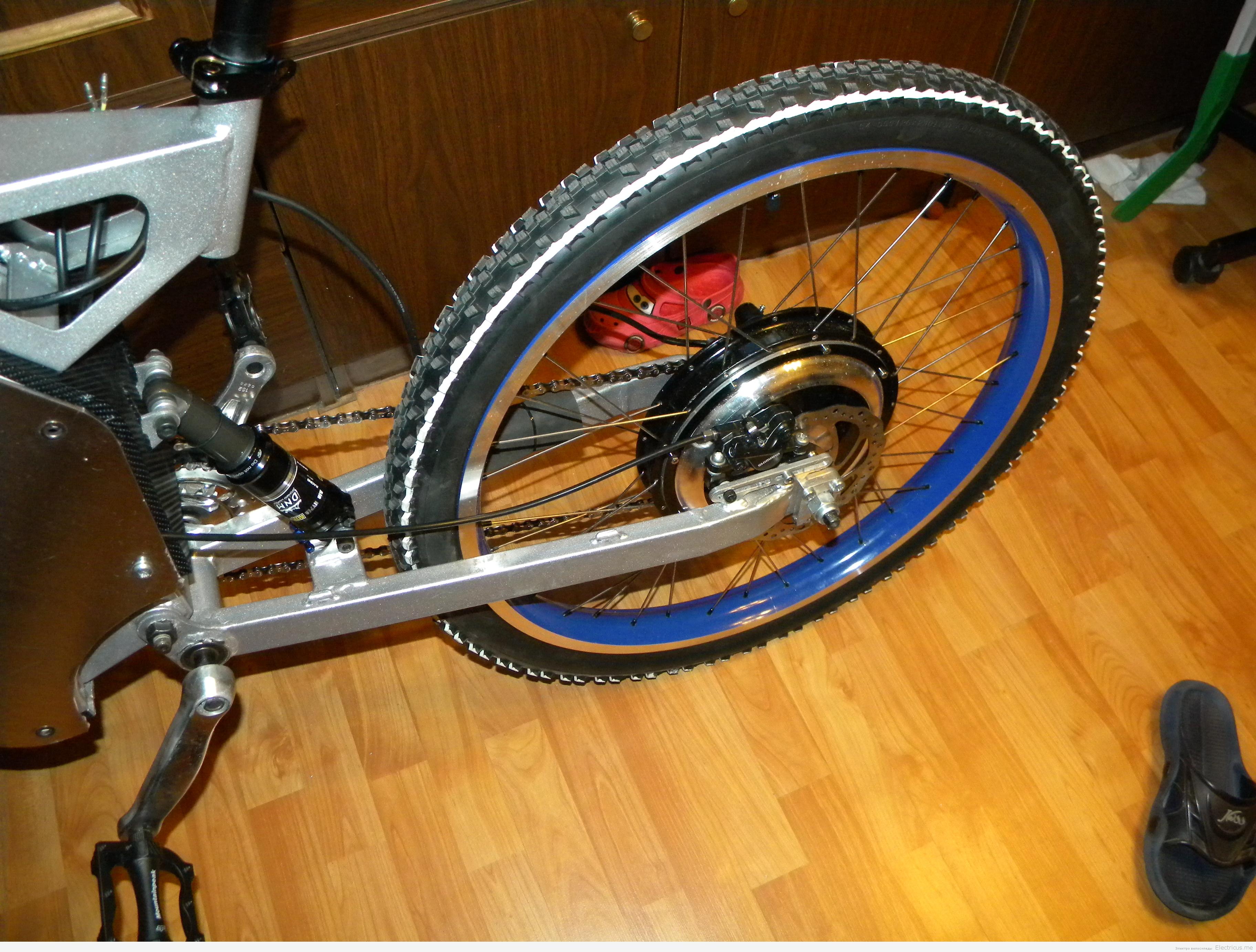 Электровелосипед своими руками из аккумулятора