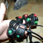 Кнопки разные, попроще по 350р, с качалками по 500р