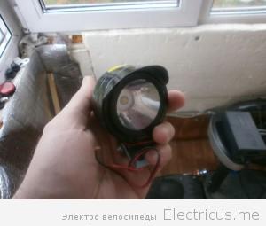 Слабая фара 5вт 12-80В 800р
