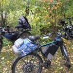 Электровелосипеды на природе