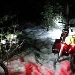 Электровелосипед в лесу