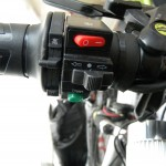 руль электровелосипеда с подогревом и кнопками
