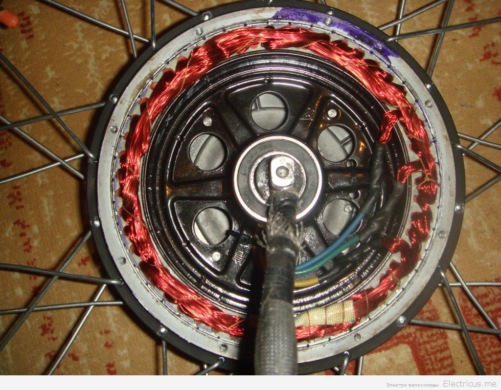Комплект мотор колесо своими руками 14