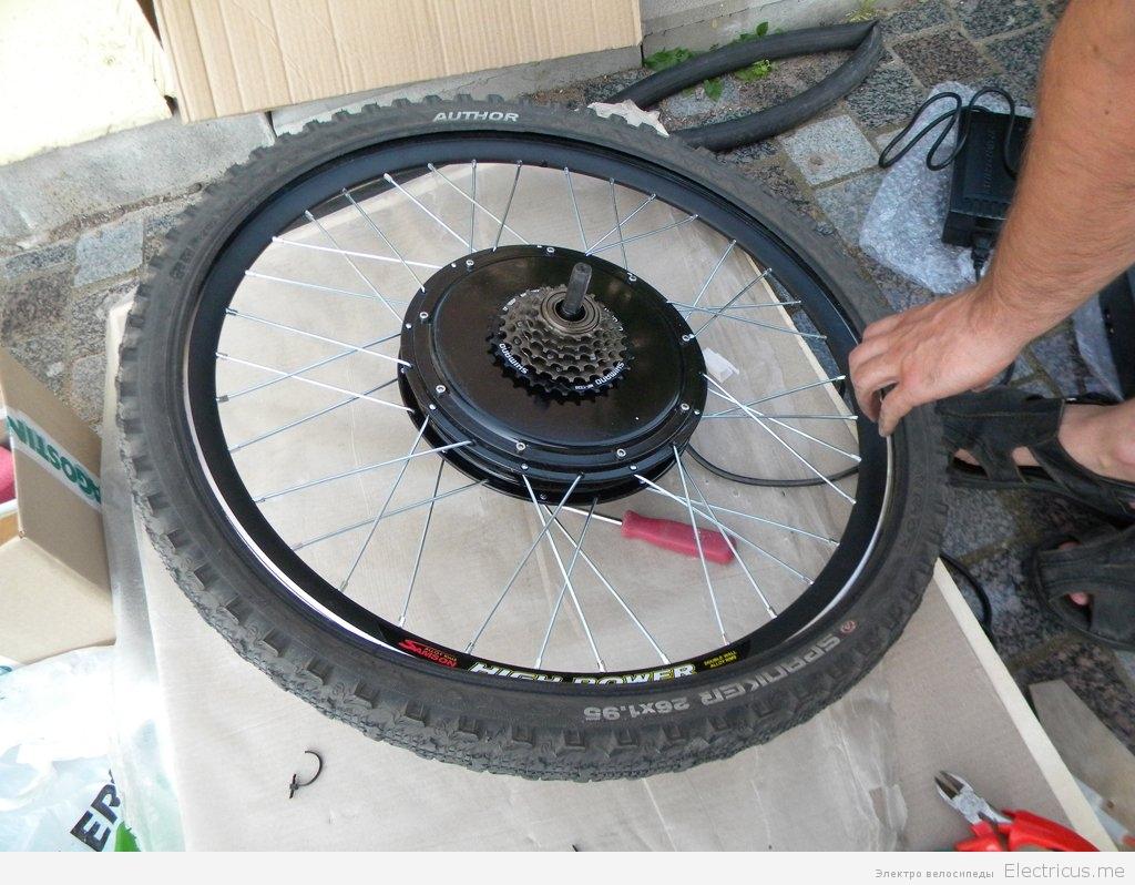 Мотор-колесо сделать своими руками 674