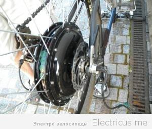 Собираем мотор колесо