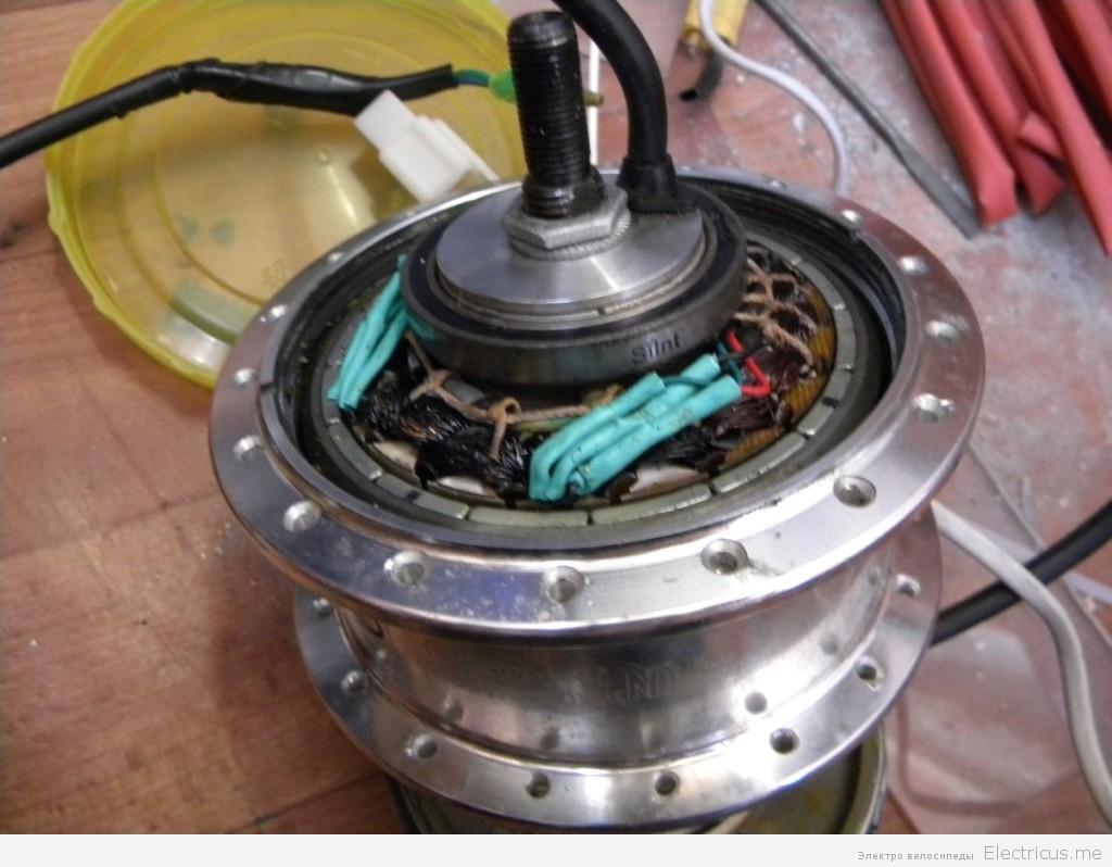 Замена датчиков холла в мотор колесе и ремонт мотор колеса своими руками