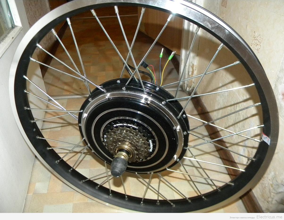Мотор-колесо своими руками ваз 87