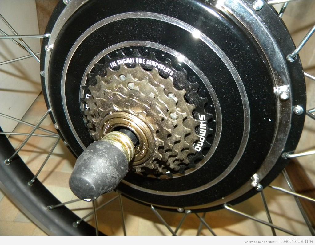 Комплект мотор колесо своими руками 89