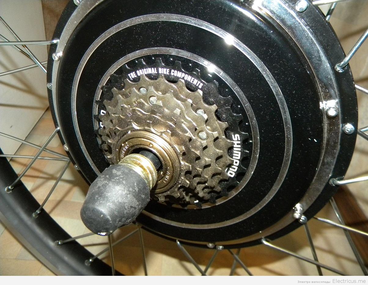 Мотор для колеса велосипеда своими руками 18