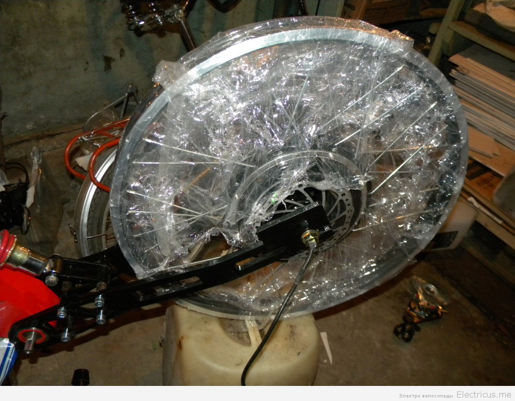 Conhismotor 1000W обод DH, новый 300$