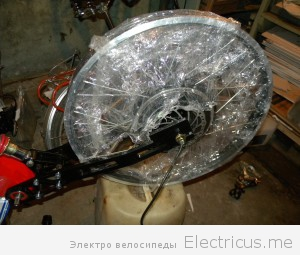 Conhismotor 1000W обод DH, новый 20000