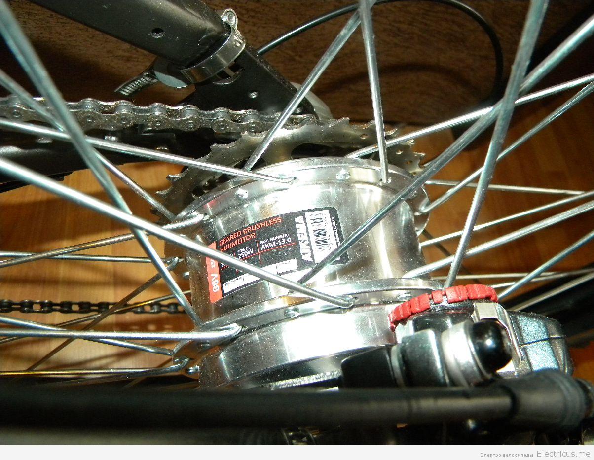 Электродвигатель для велосипеда своими руками 45