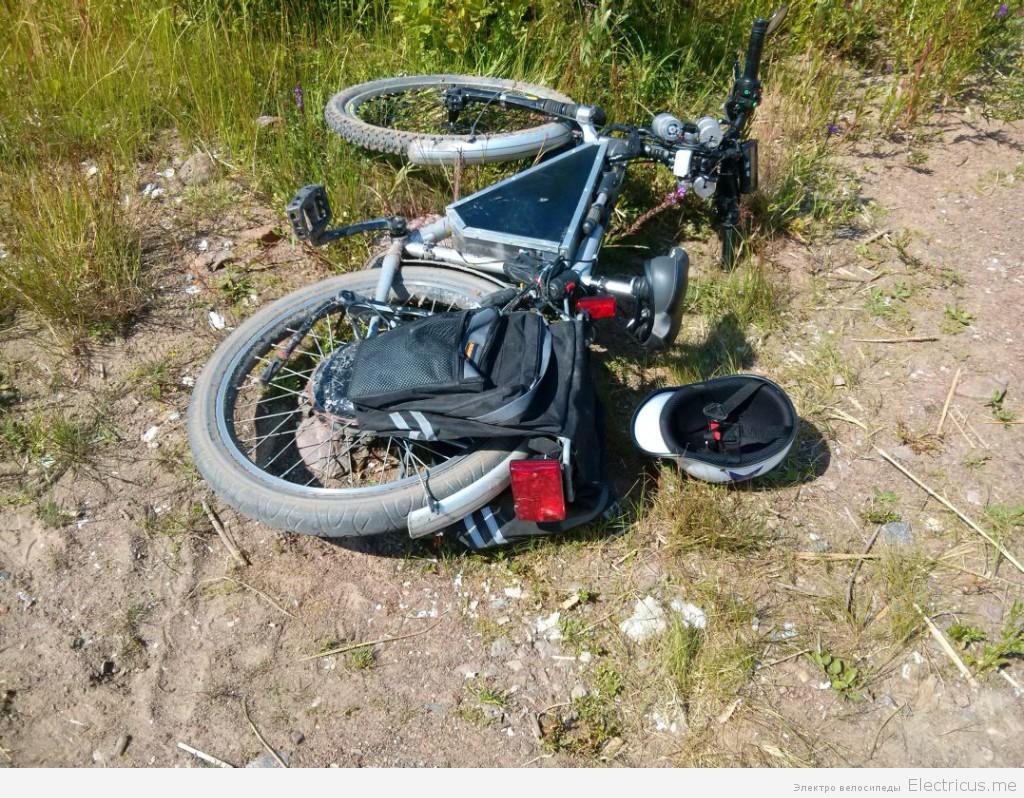 езда на электровелосипеде