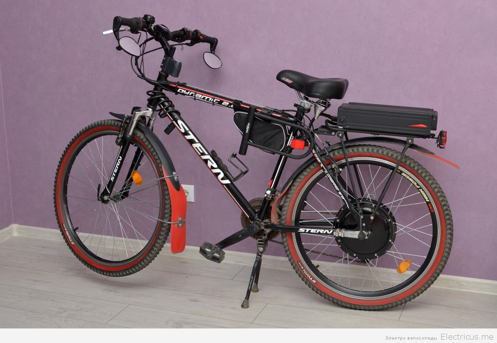 Электровелосипед своими руками из краснодара