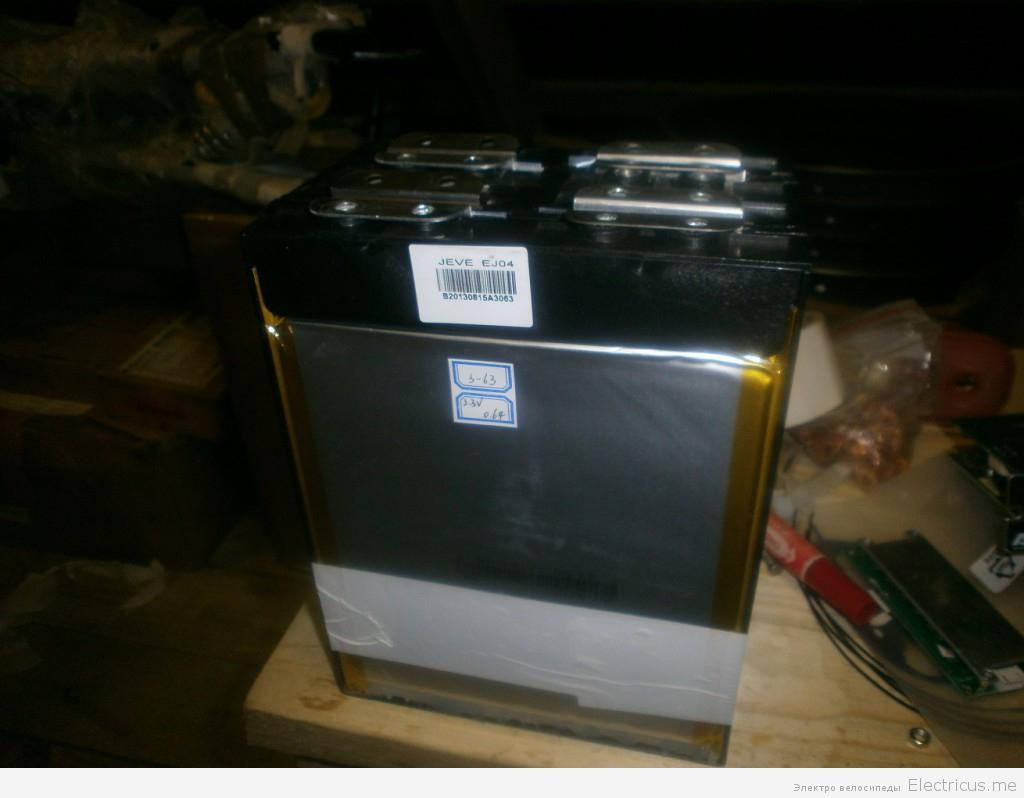 Аккумулятор для лодки и лебедки Lifepo4 12В 60Ач весом в 6,8кг.