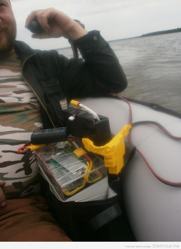 аккумулятор для лодки lifepo4