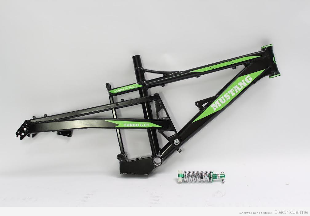 Рама электрического велосипеда Mustang