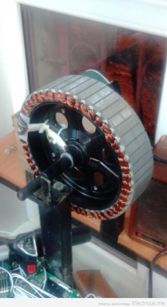 как устроено мотор колесо электровелосипеда