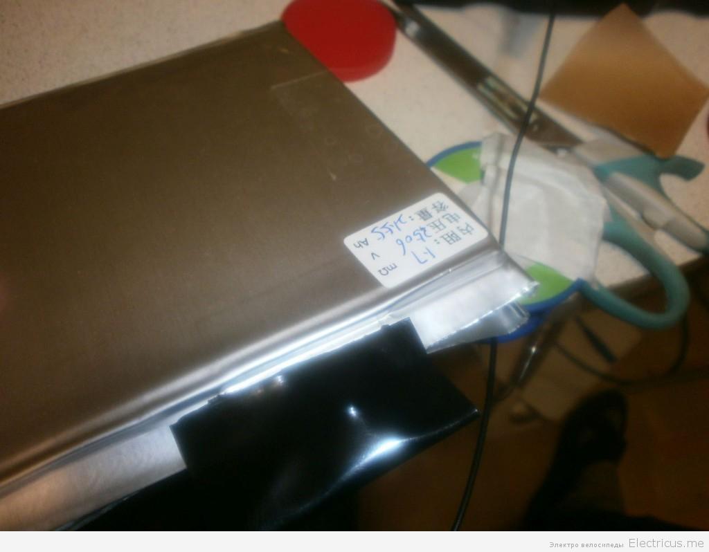 сборка аккумуляторной батареи lifepo4 технология