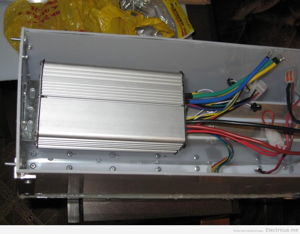 Установка контроллера на электровелосипед
