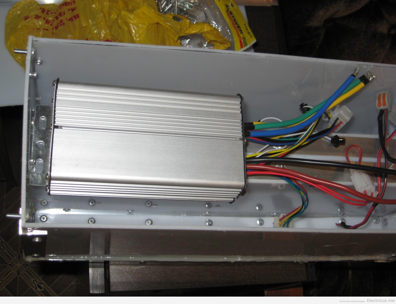 Контроллер для электровелосипед своими руками фото 333