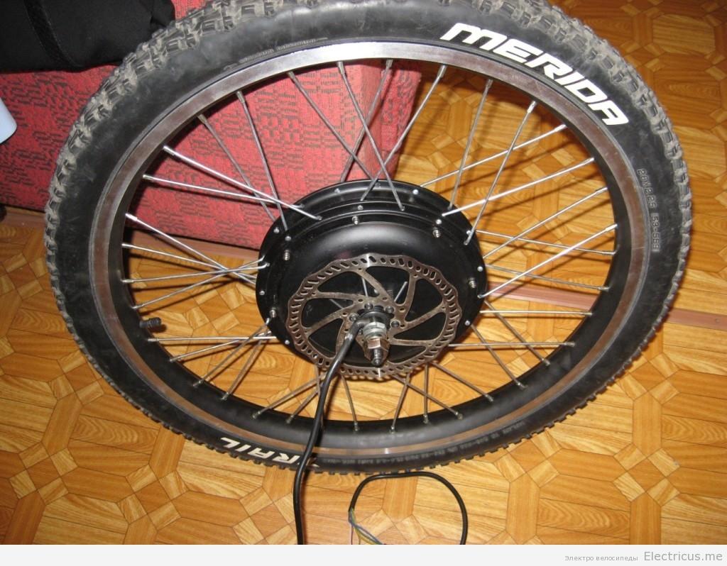 Мотор колесо электровелосипеда