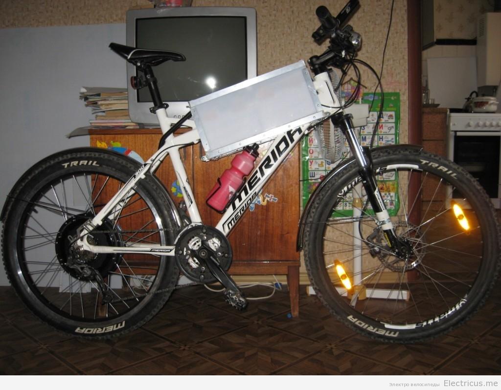 Электровелосипед общий вид