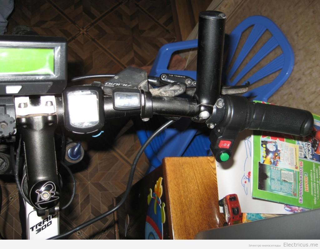 Установка Cycle analyst 3 на электровелосипед
