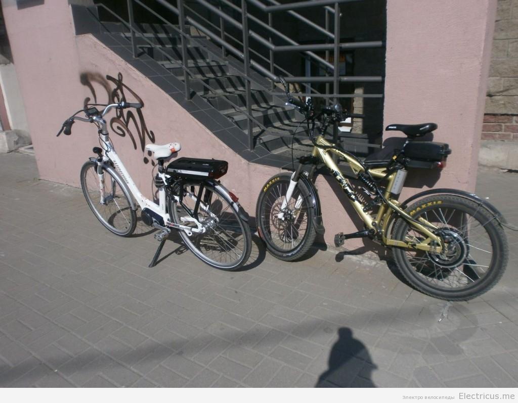 Электровелосипед Winora