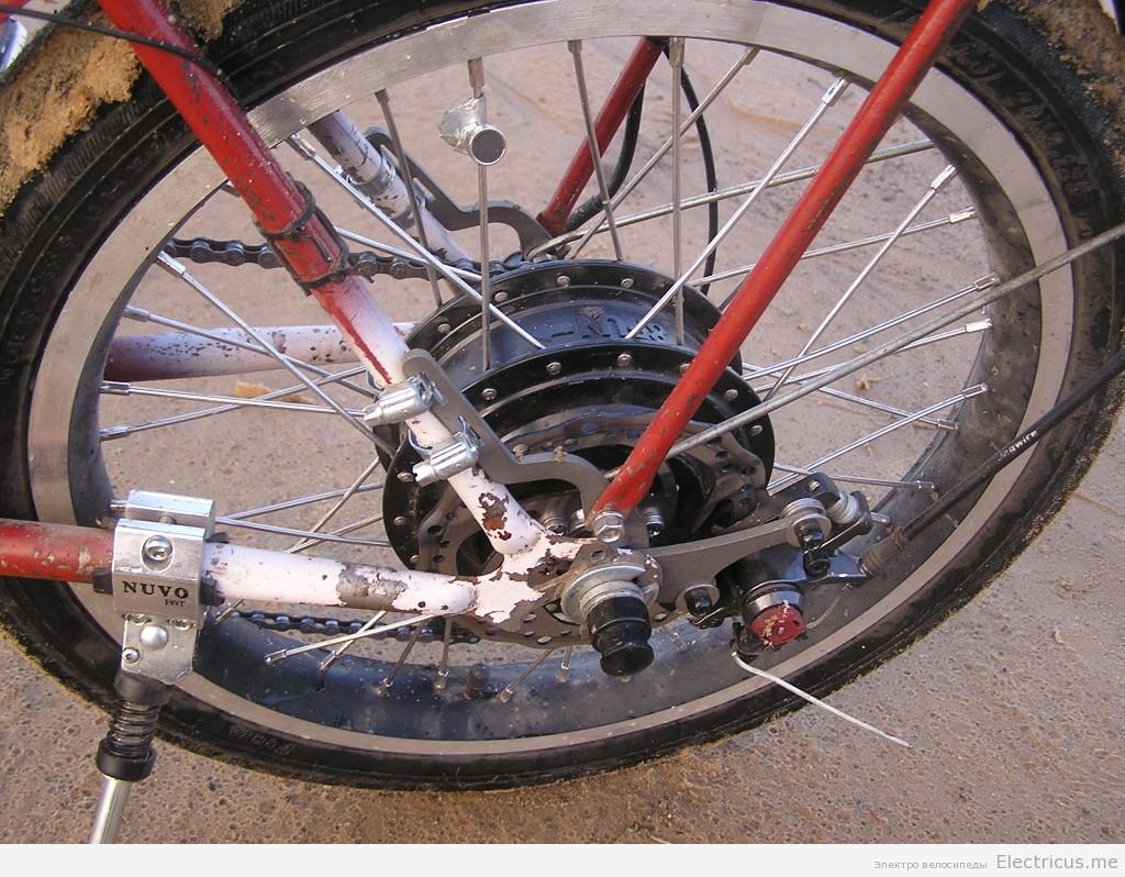 Электродвигатель для велосипеда своими руками 74