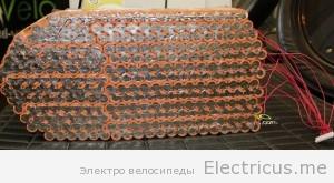 Мощная акб электровелосипеда 72 30