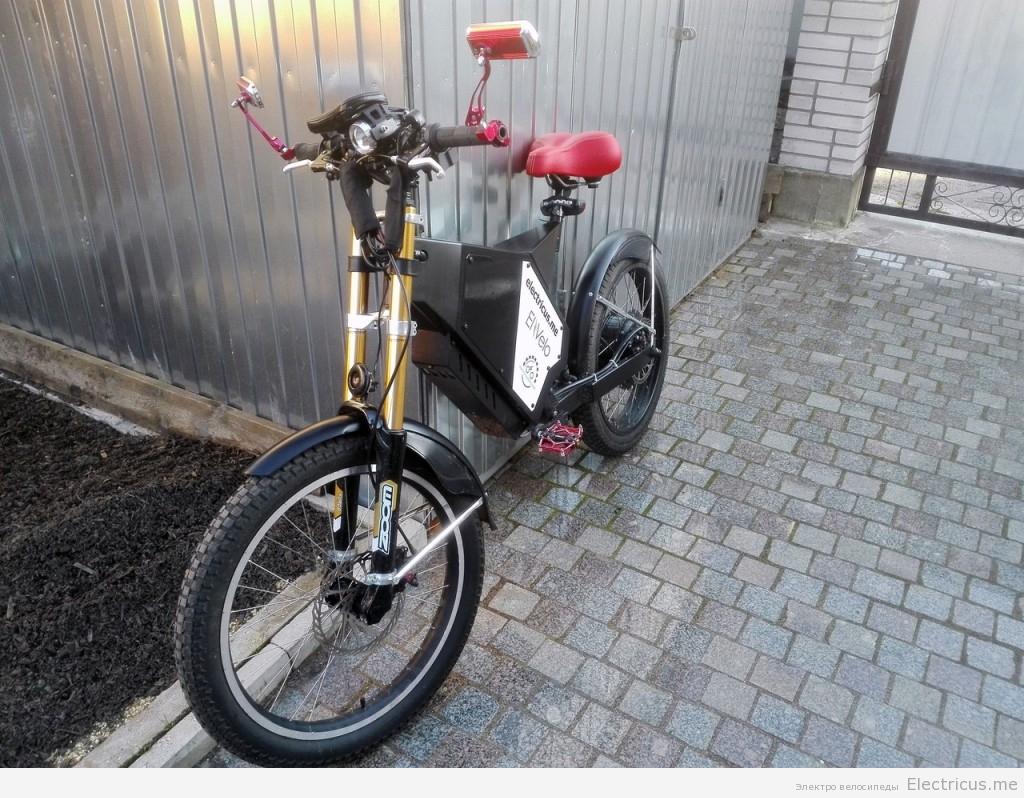 мощный электрический велосипед 6000вт